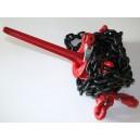 Napinacz łańcuchowy z hakami skręcającymi